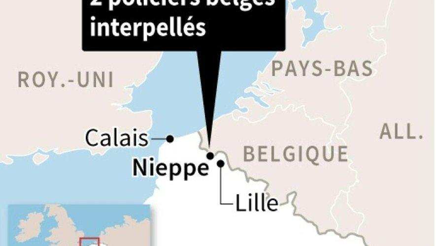 Deux policiers belges interpellés