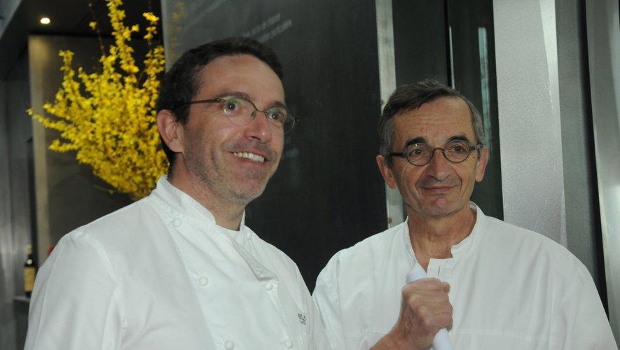 Véritables précurseurs de la cuisine végétale, Michel et Sébastien Bras font partie des premiers signataires.