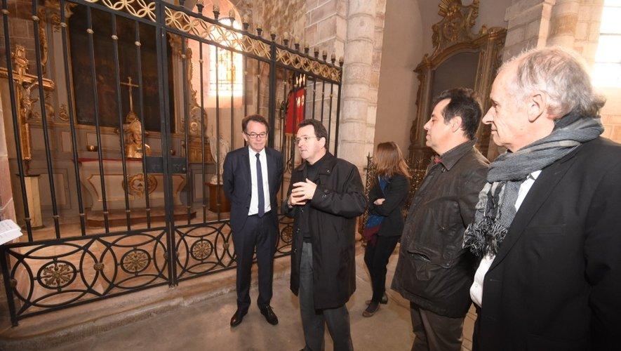 En attendant dimanche, les représentants de l'Evêché et de la Ville se sont montrés bien mystérieux...