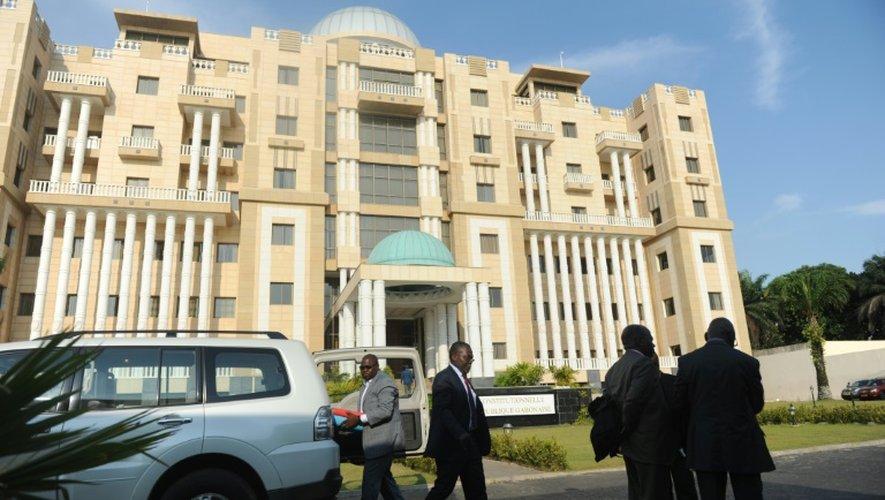 Le bâtiment de la Cour constitutionnelle à Libreville, le 22 septembre 2016 au Gabon