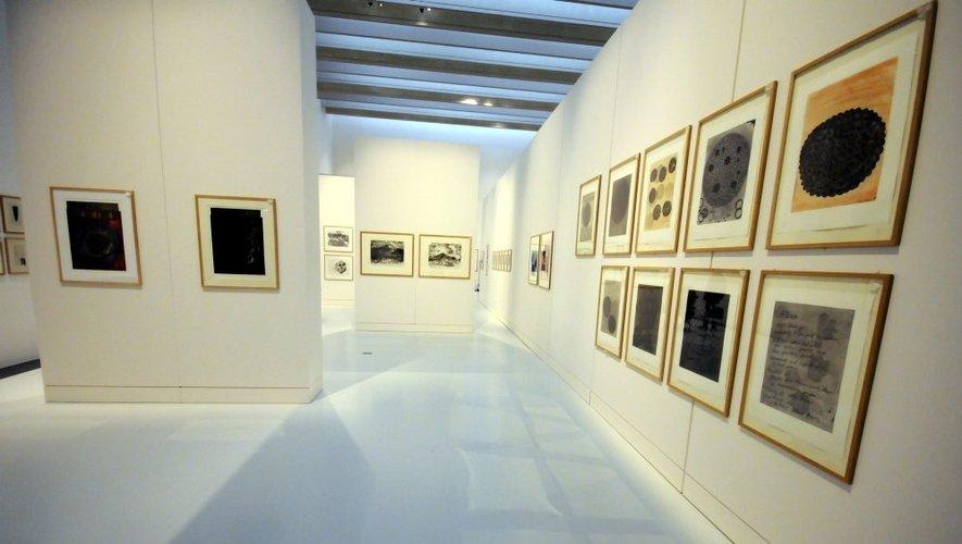 Le musée Soulages présente l'exposition «De Picasso à Jasper Johns»
