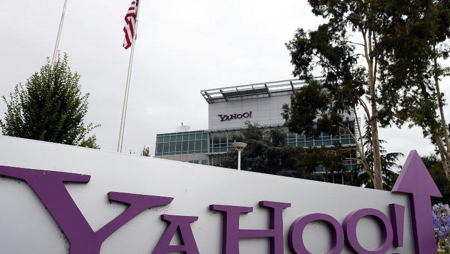 Le siège de Yahoo à Sunnyvale en Californie, le 17 juillet 2012