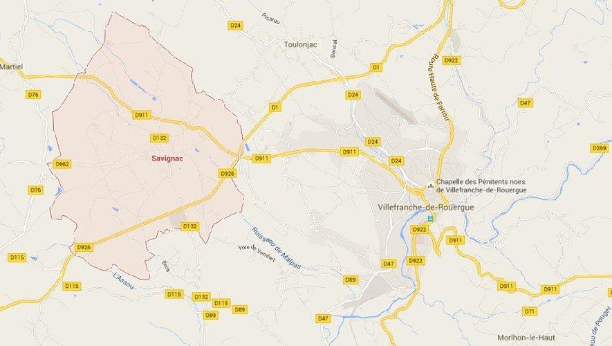 Savignac : il blesse un cycliste et prend la fuite, avant d'être retrouvé