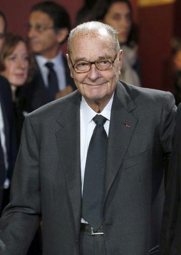 Jacques Chirac le 21 novembre 2014 au musée Quai Branly à Paris