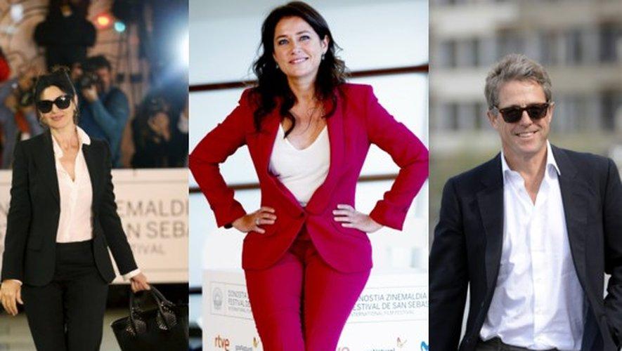 Monica Bellucci, Sidse Babett Knudsen et Hugh Grant