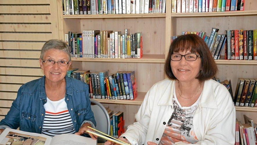 Ginette et Christine attendent des bénévoles.