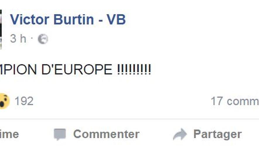 Equitation : Victor Burtin, champion d'Europe par équipe