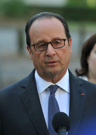 François Hollande le 24 septembre 2016 à Tours