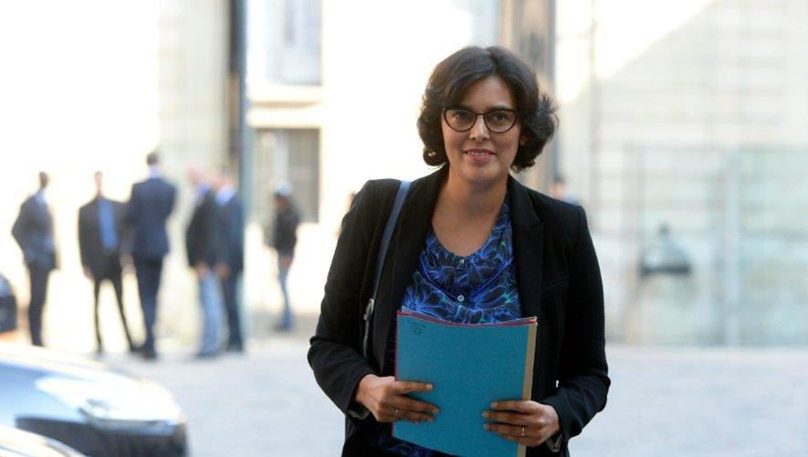 La ministre du Travail Myriam El-Khomry, le 21 septembre 2016 à Paris