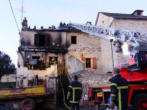 Un mort dans un incendie à Gabriac
