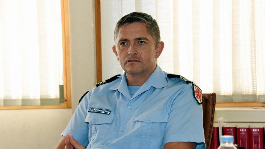 Le lieutenant-colonel Erwan Le Floc'h.