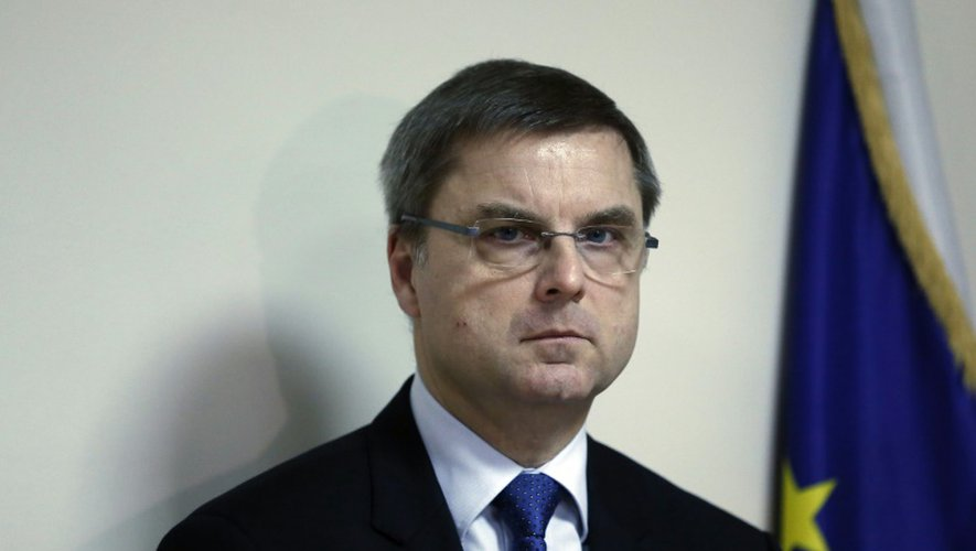 L'ex-chef de la police judiciaire parisienne Christian Flaesch le 21 janvier 2013 à Paris
