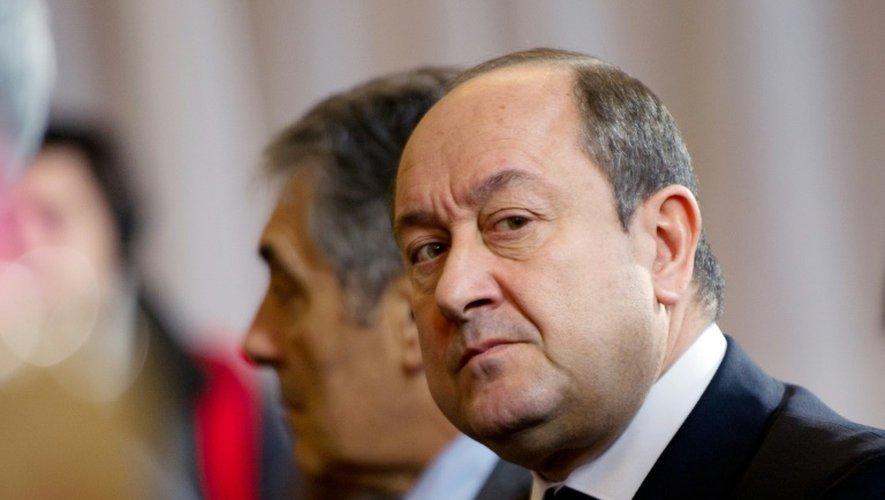 L'ancien patron du renseignement intérieur Bernard Squarcini, le 17 janvier 2012, à Paris.