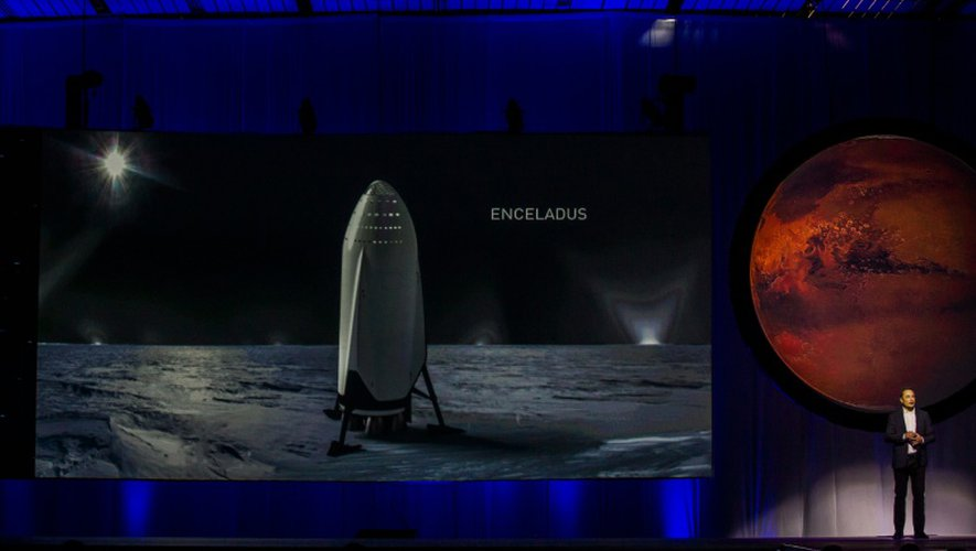Le milliardaire visionnaire Elon Musk, fondateur de la société SpaceX, le 27 septembre 2016 à Guadalajara au Mexique