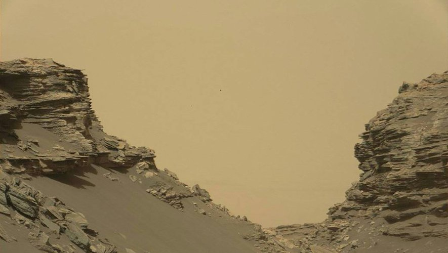 Vue de Mars sur une image diffusée par la Nasa le 10 septembre 2016