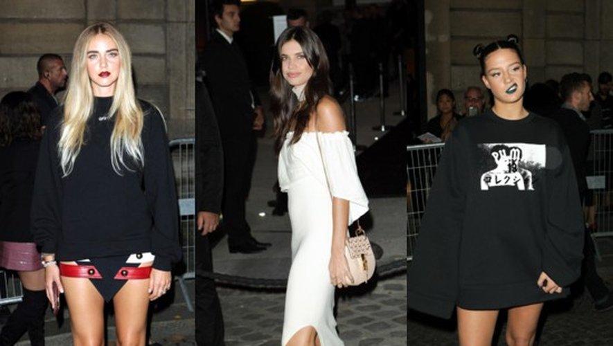 It Girls chez Rihanna : Chiara Ferragni, Sara Sampaio, Adèle Exarchopoulos…