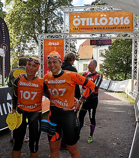 Marion Puech (à droite) et Lise Darfeuille ont décroché la première place chez les féminines et le 6e rang au général à l'Otillo en Suède.