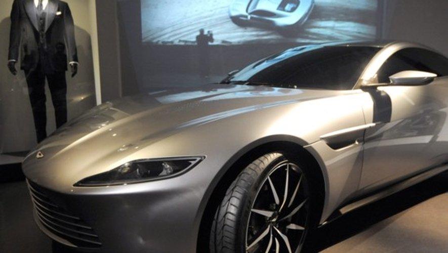 Expo James Bond au Musée du film de Londres