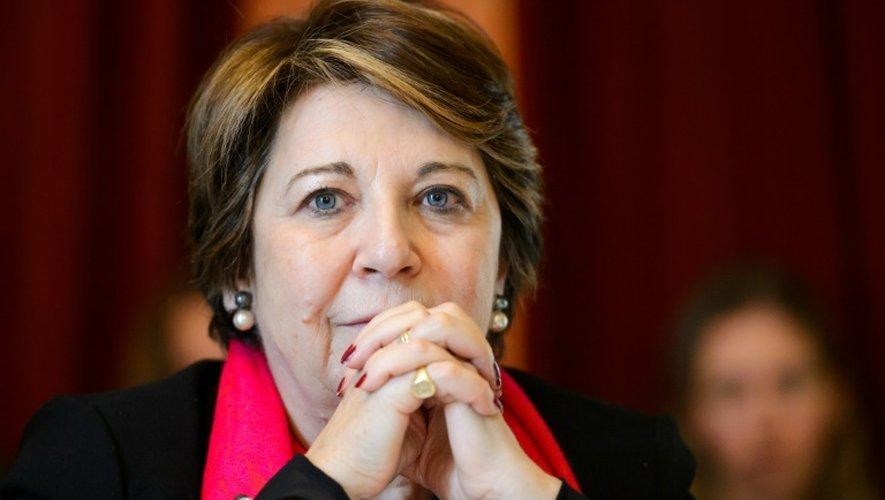 L'avocate et ancienne ministre Corinne Lepage le 7 mars 2016 à Genève