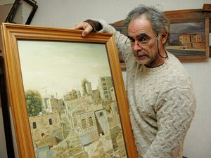 Shimon Palombo, peintre de l'exil