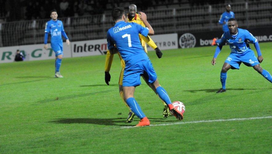 Rodez a encaissé un nouveau revers samedi soir face à Béziers.
