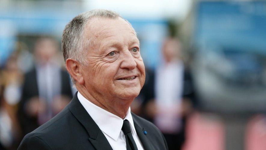 Le président de l'OL Jean-Michel Aulas, le 2 septembre 2016 à l'ouverture du festival du film nord-américain à Deauville
