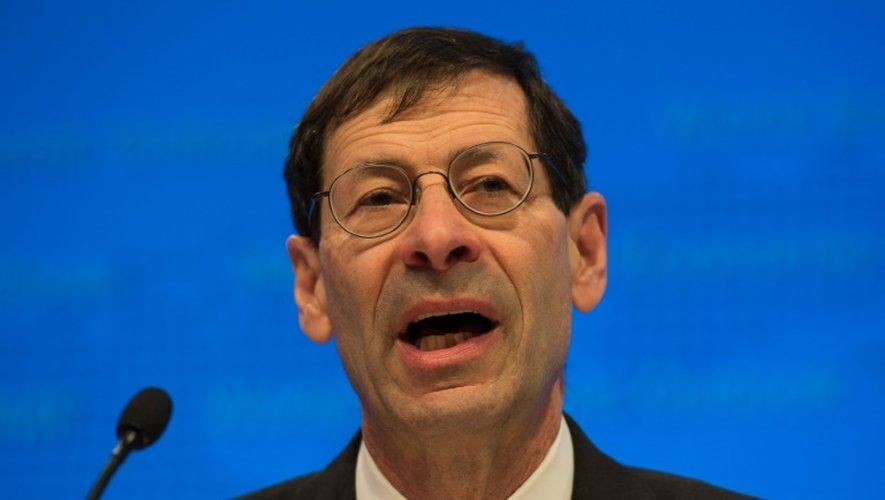 Le chef économiste du FMI, Maurice Obstfeld, le 12 avril 2016 à Washington