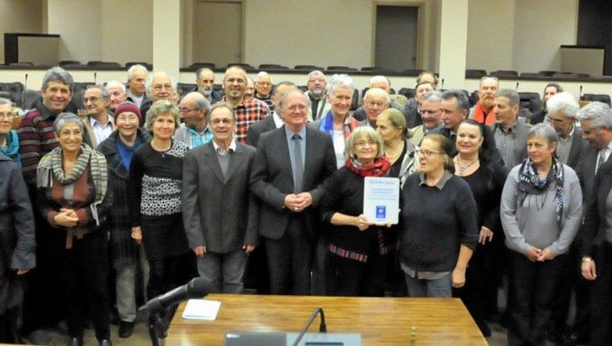 Les lauréats du prix départemental du patrimoine ont été conviés au conseil général.