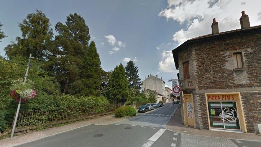 La maison est située dans un parc arboré, rue Gambetta.