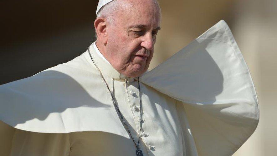 Le pape François au Vatican le 19 novembre 2014