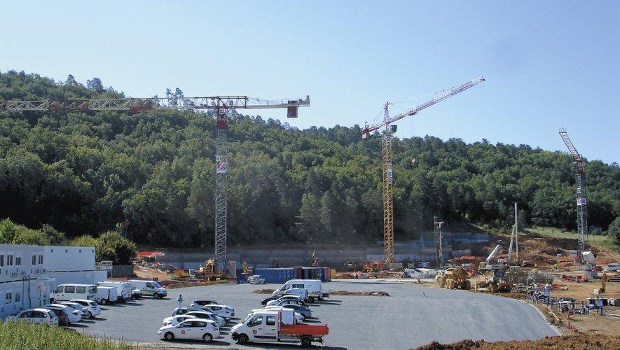 """■ Lascaux IV, un chantier sonne comme une """"victoire pour Lagarrigue BTP qui développe également une nouvelle activité, la restauration."""