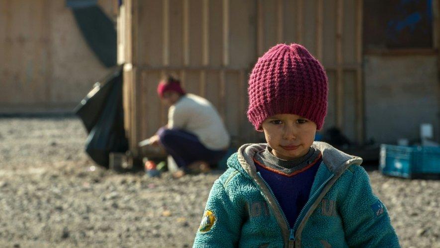 Un jeune réfugié dans le camp de Grande-Synthe, le 4 octobre 2016