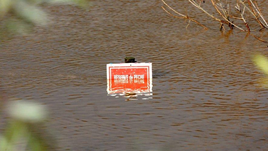 Des trombes d'eau se sont abattues sur l'Aveyron au cours de la matinée.