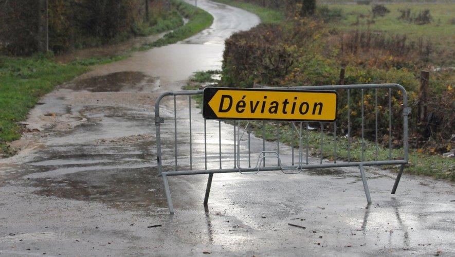 La situation s'est aggravée au cours de la journée sur le Lévezou et dans la vallée de l'Aveyron.