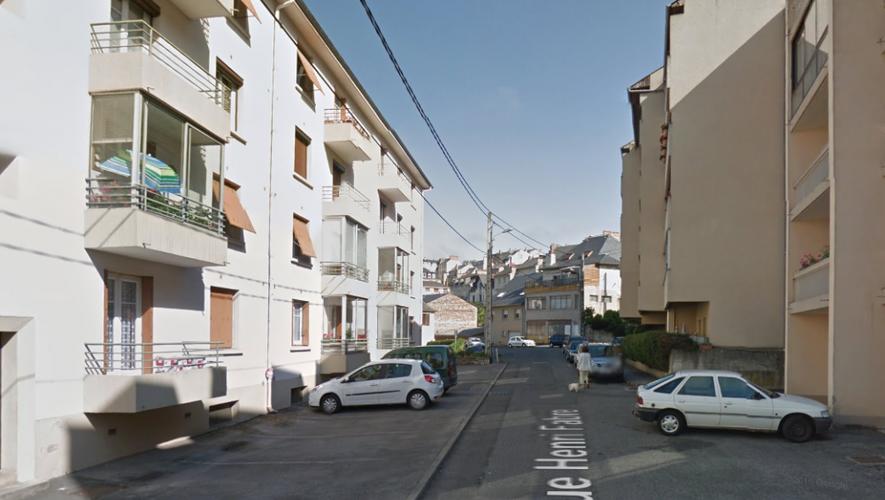 L'homme a été interpellé dans un immeuble de la rue Henri-Fabre hier matin.