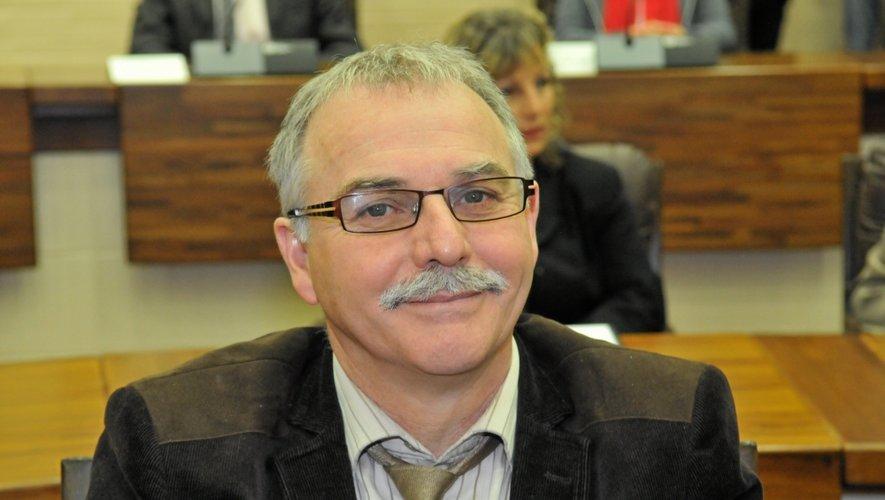 Vincent Alazard, maire de Laguiole.