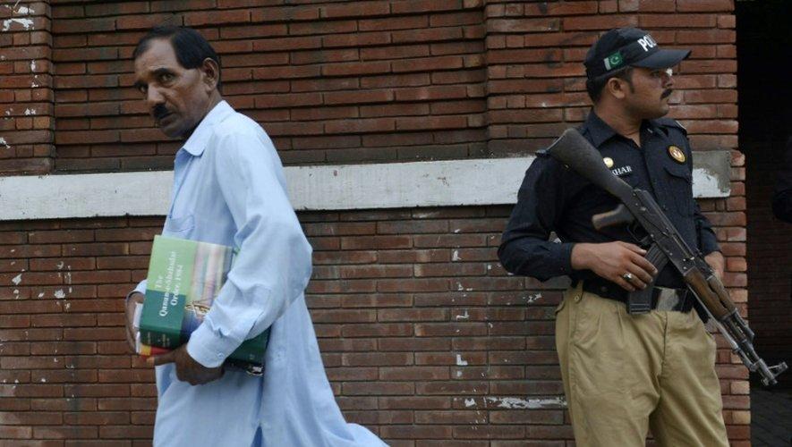 Ashiq Masih, le mari d'Asia Bibi, le 22 juillet 2015 à Lahore