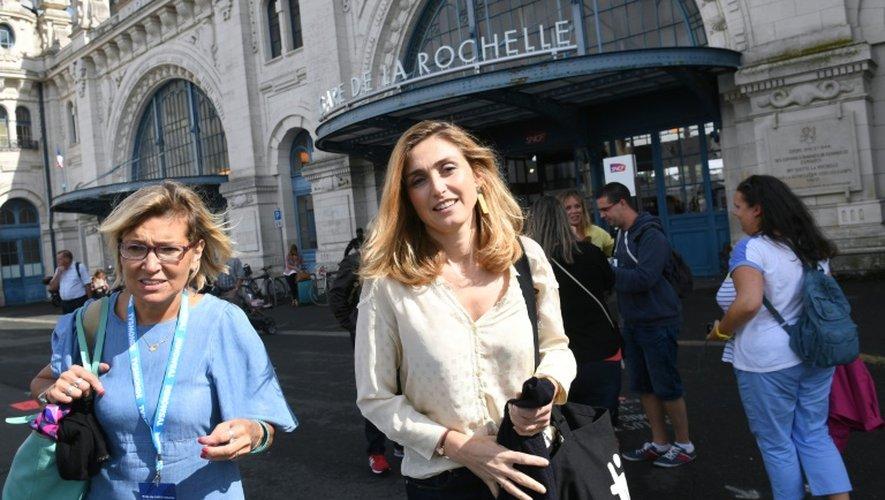 Julie Gayet le 18 septembre 2016 à La Rochelle