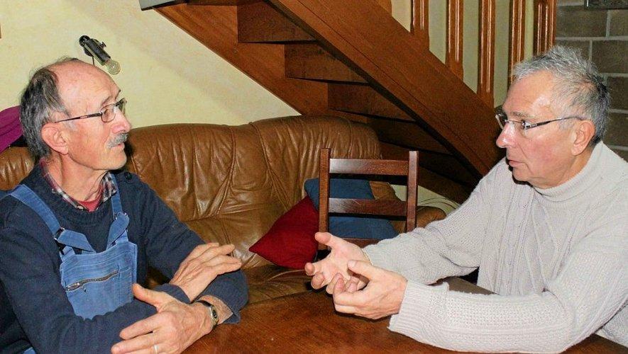 Yves Garric nous invite à rencontrer un agriculteur courageux et tenace, Gilbert Espinasse.