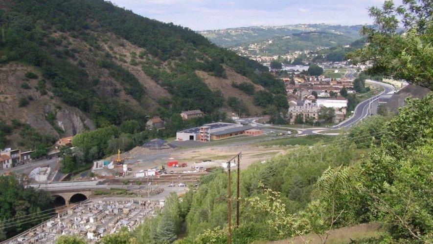 """Comme le révèle Jean-Louis Denoit """"des pistes ont été identifiées"""" pour urbaniser les 12 000 m² du plateau de Laubarèdes."""