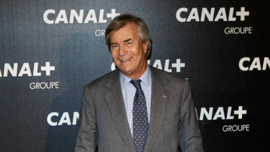 L'industriel français Vincent Bolloré, propriétaire du groupe Vivendi à Paris, le 3 février 2016