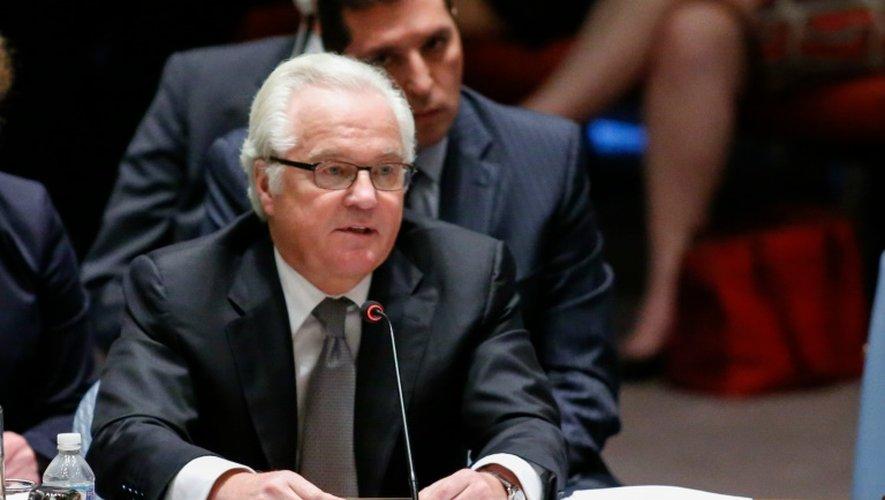 L'ambassadeur russe aux Nations unies, Vitali Tchourkine, le 29 juin 2015 à New York