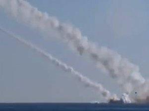 La Russie a frappé des cibles en Syrie pour la première fois depuis un sous-marin (ministère de la Défense)