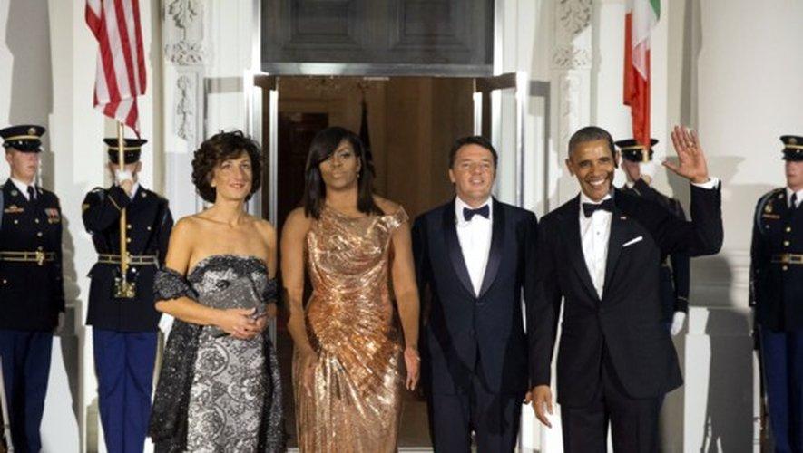 Couple Obama : leur dernier dîner d'Etat glamour