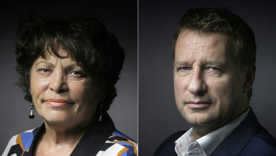 Les eurodéputés d'EELV Michel Rivasi et Yannick Jadot