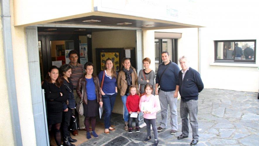 Les parents d'élèves de Villefranche.