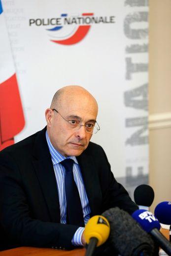 Le directeur général de la police nationale, Jean-Marc Falcone le 24 juillet 2014 à Paris