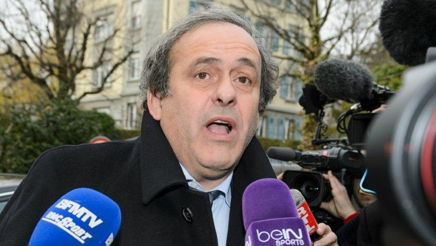 Fifa: décision du TAS sur la suspension de Platini vendredi vers 10h00