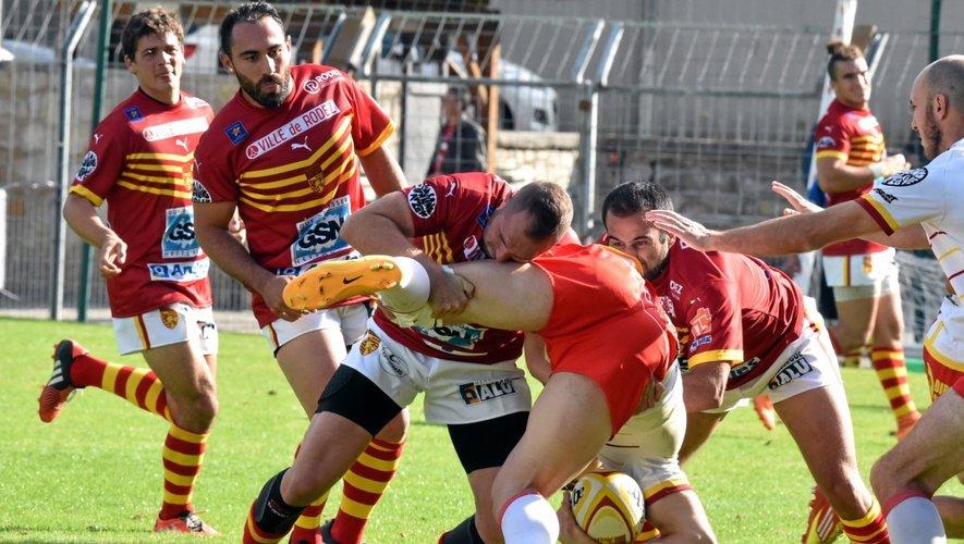 Rugby : le match Rodez-Blagnac en chiffres