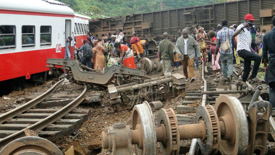 Déraillement d'un train à Eseka, le 21 octobre 2016, au Cameroun
